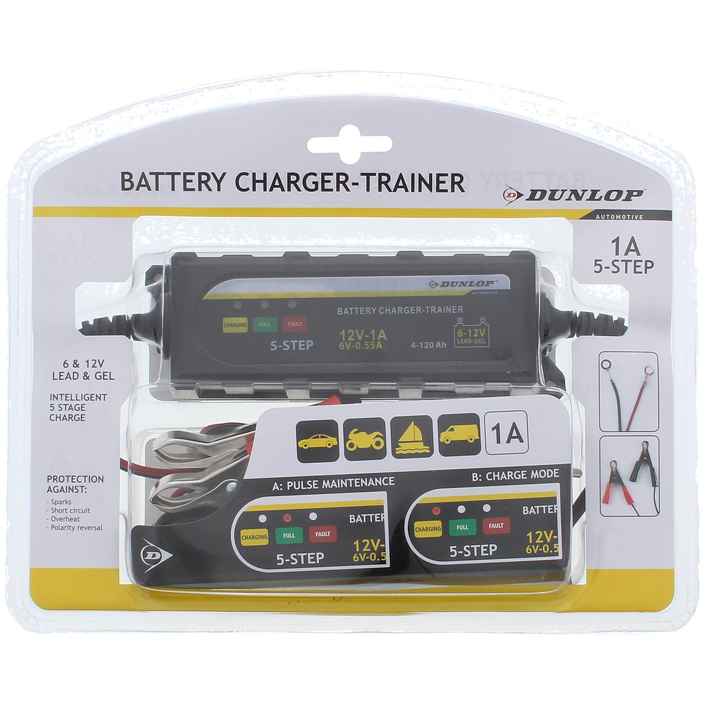 Chargeur batterie de voiture Dunlop & sélection articles hiver voiture