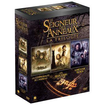Coffret DVD 3 films Le Seigneur des Anneaux