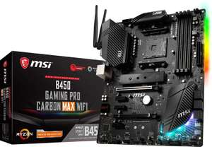 Carte mère MSI B450 Gaming Pro Carbon Max WiFi - socket AM4