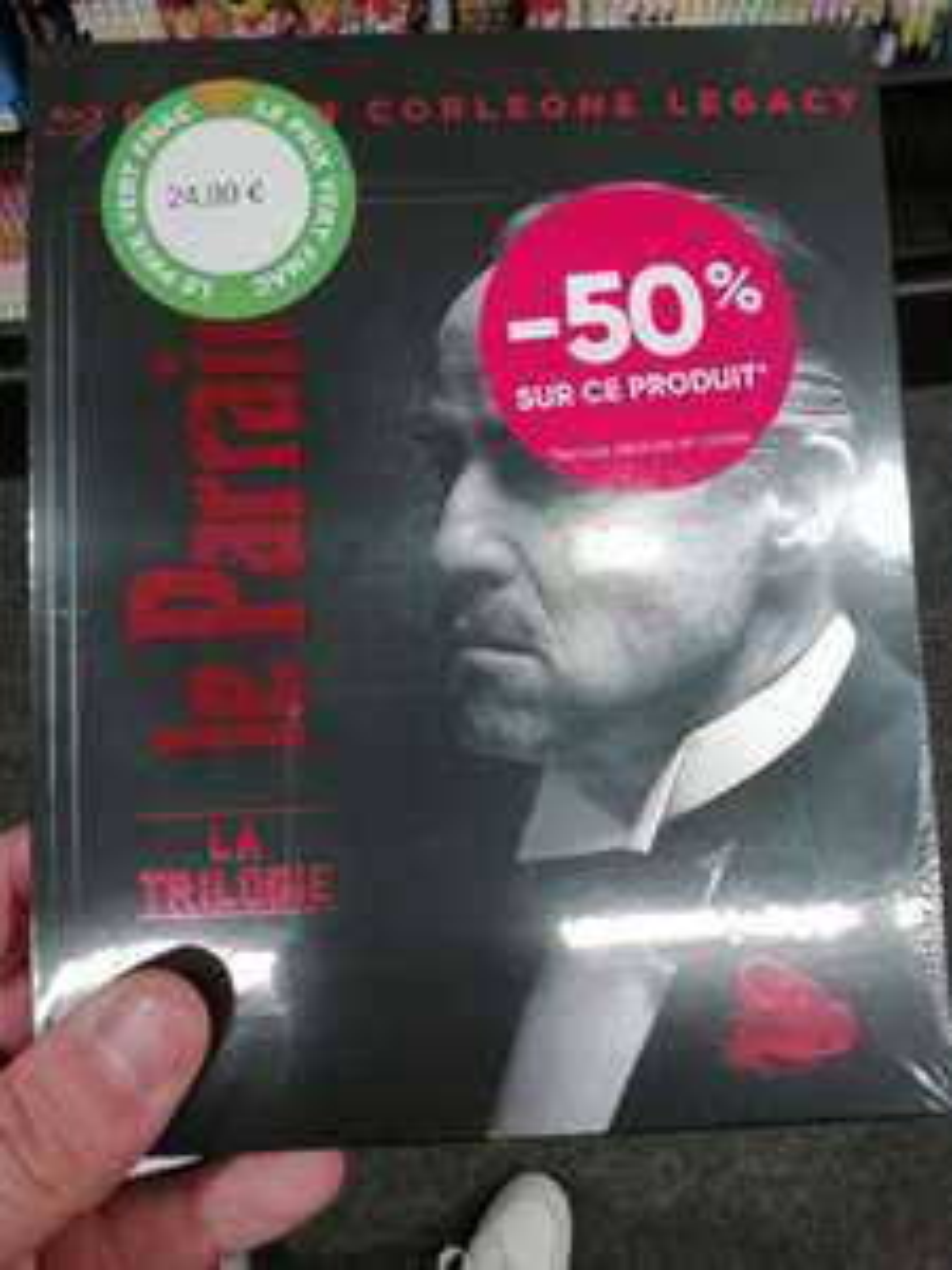 Trilogie Blu-ray Le Parrain - Cergy (95)