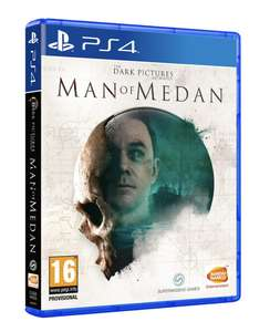 Jeu The Dark Pictures : Man Of Medan sur PS4