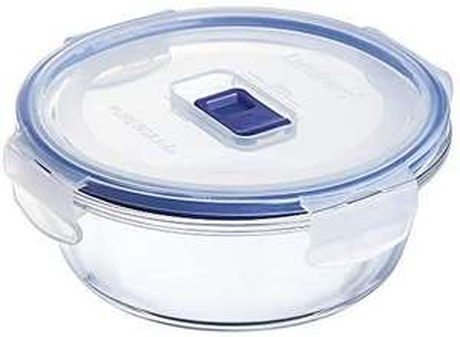 Boîte de Conservation hermétique en verre rond Luminarc Pure Box Active - 0,67 L