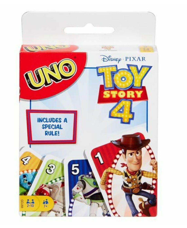 Jeu de cartes Uno édition Toy Story 4