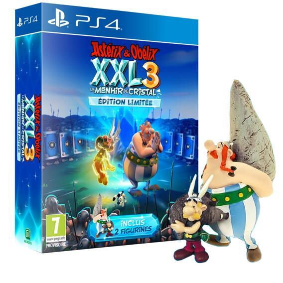 Astérix & Obélix XXL 3 : Le Menhir De Cristal Édition Limitée avec 2 Figurines sur PS4 (via 25.2€ sur la carte)