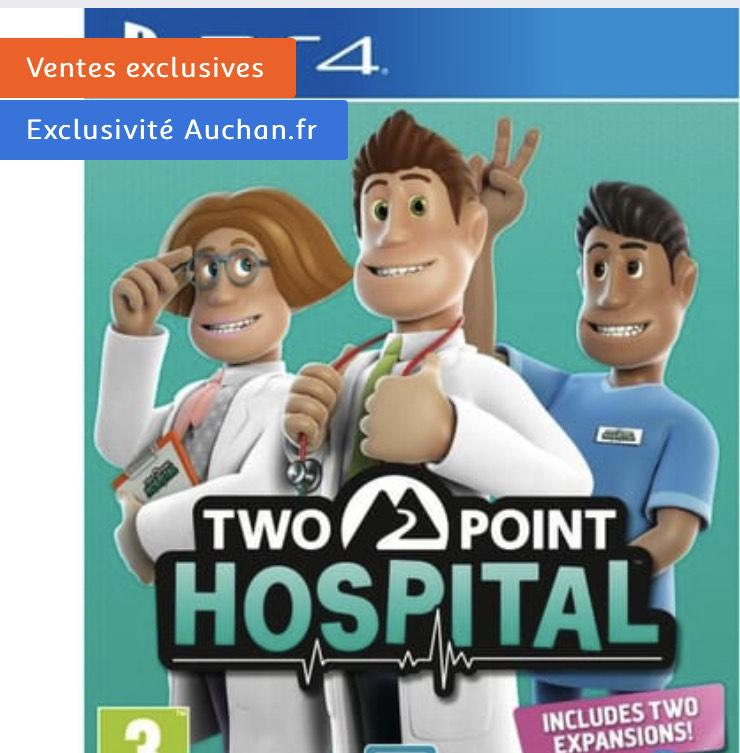 Two Point Hospital sur PS4 (Via 20€ sur Carte Fidélité)