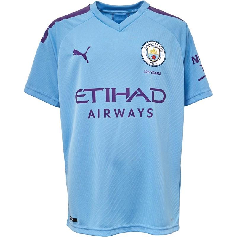 Maillot de football pour enfant Puma Manchester City 19/20 domicile - taille 15/16 ans