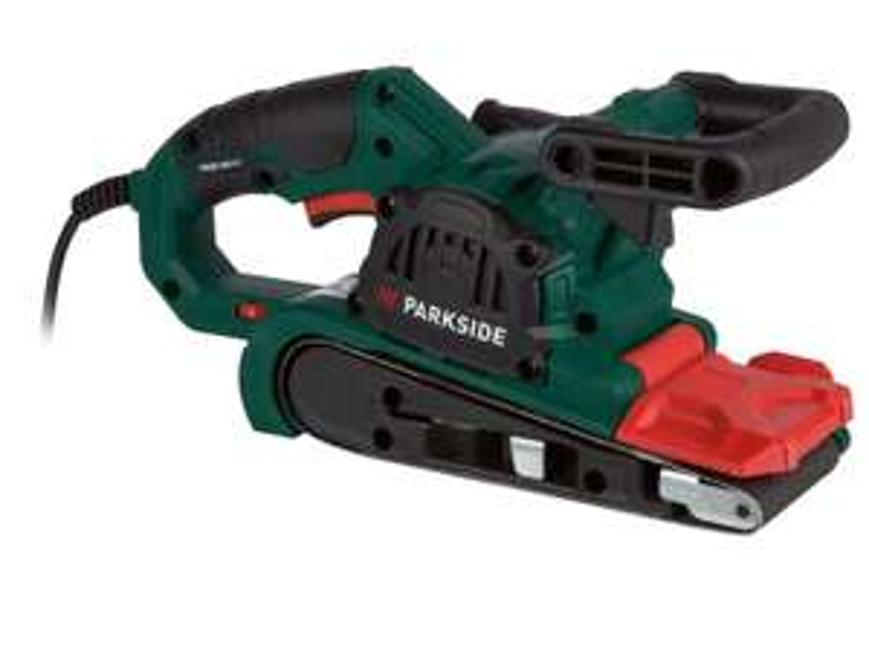 Ponceuse à bande ParkSide - 240-400 m/min, 900 W