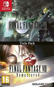 Final Fantasy VII & VIII - Remastered Twin Pack sur Switch