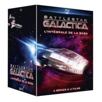 Coffret Blu-ray Battlestar Galactica - L'intégrale de la saga (4 séries + 4 films)