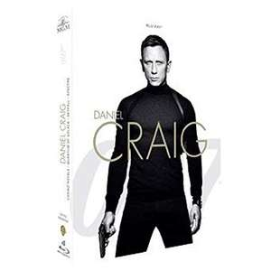 Coffret Blu-ray James Bond 007 - La Collection Daniel Craig avec Casino Royale + Quantum of Solace + Skyfall + Spectre