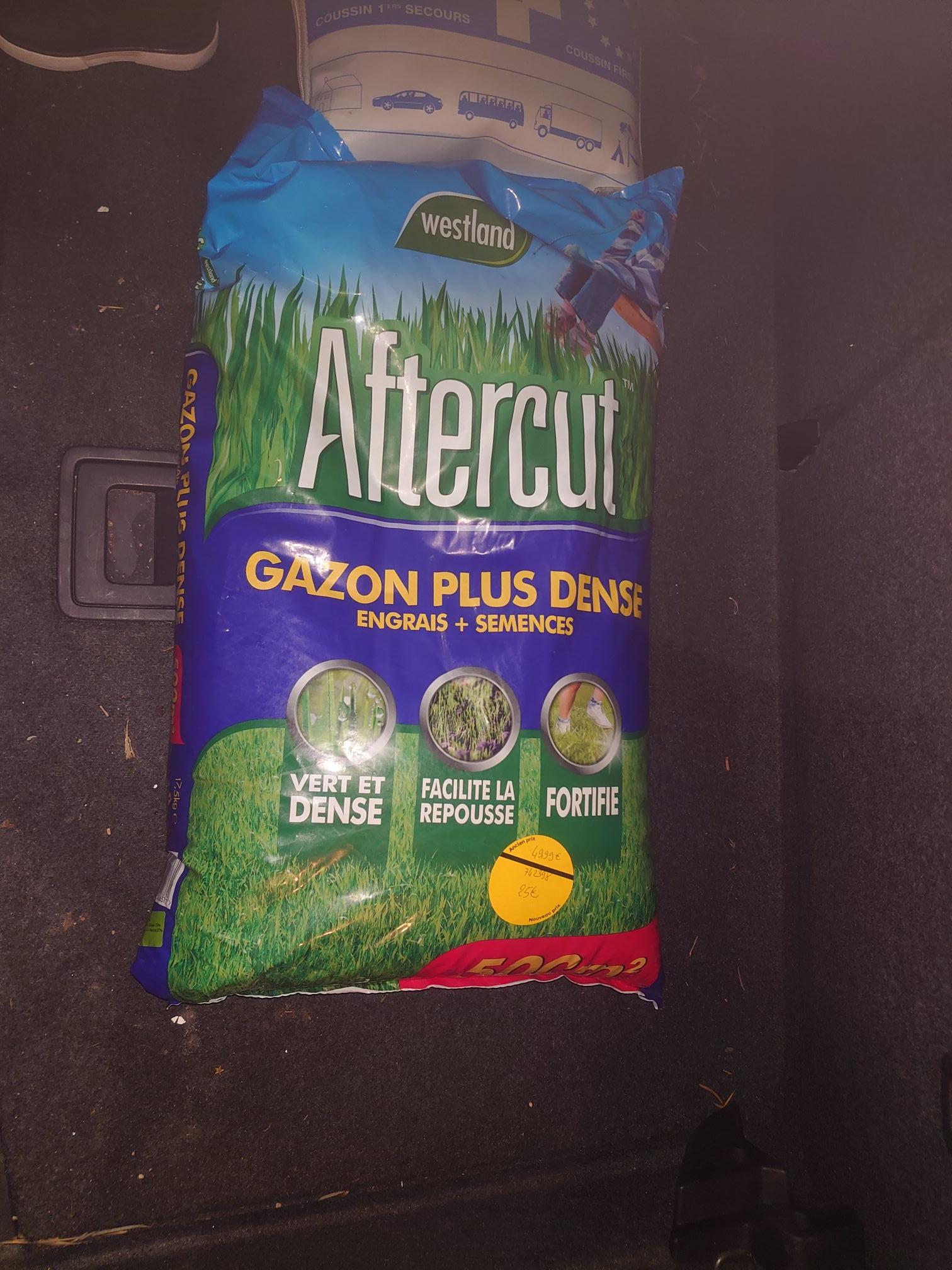 Sac d'engrais + semences Westland Aftercut (500 m²) - Olivet (45)