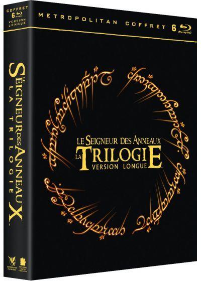Coffret Blu-ray Le Seigneur des anneaux - Version longue