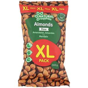 Pack d'amandes XL Natural Happiness - 300g (Egalement mélange de noix)