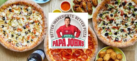 1 pizza classique achetée = une pizza classique offerte - Papa John's Lyon (69)