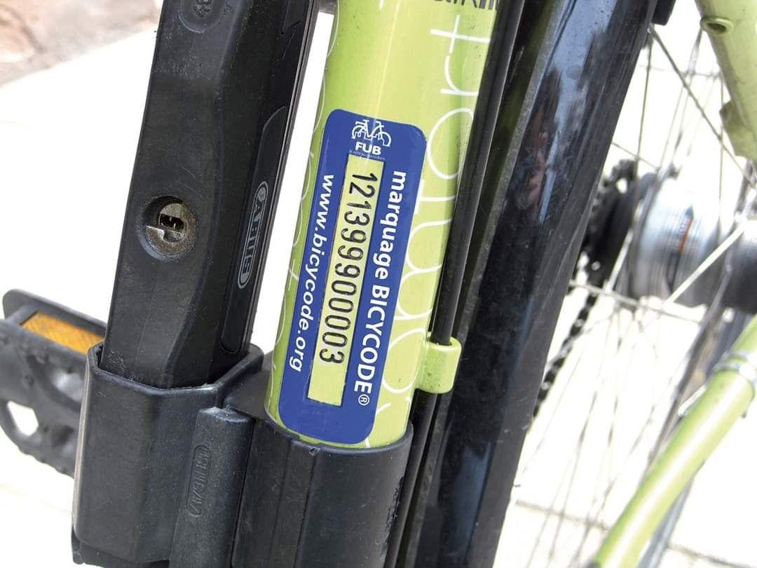 Marquage de Vélo Gratuit - Caen (14)