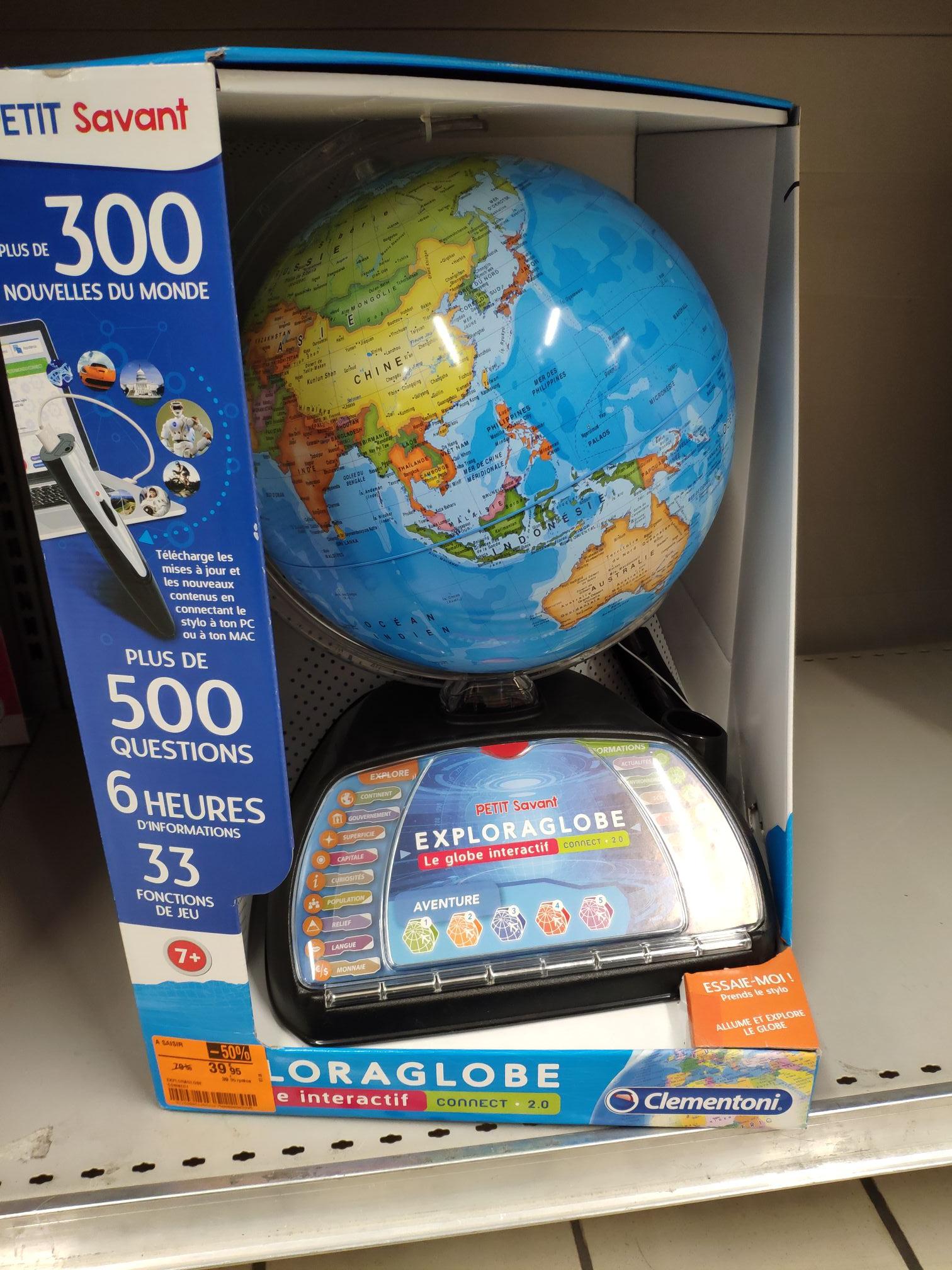 Globe Clementoni Exploraglobe - Carrefour market saint lo (50)