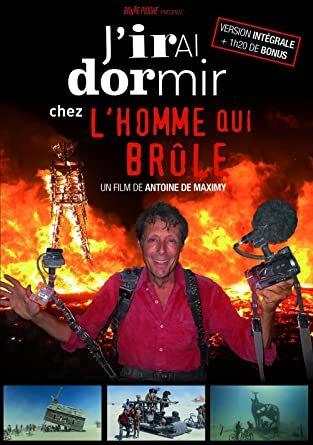 DVD J'irais dormir chez l'homme qui brûle offert pour l'envoi d'une enveloppe timbrée (2.16€)