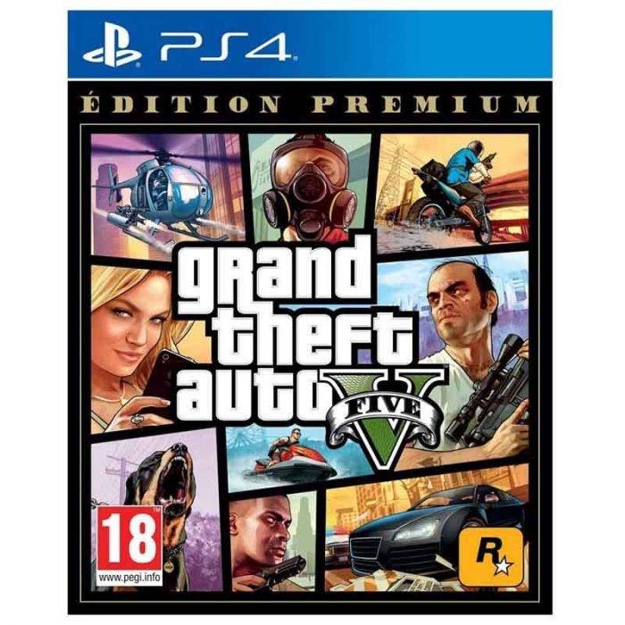 Grand Theft Auto V (GTA 5) Edition Premium sur PS4