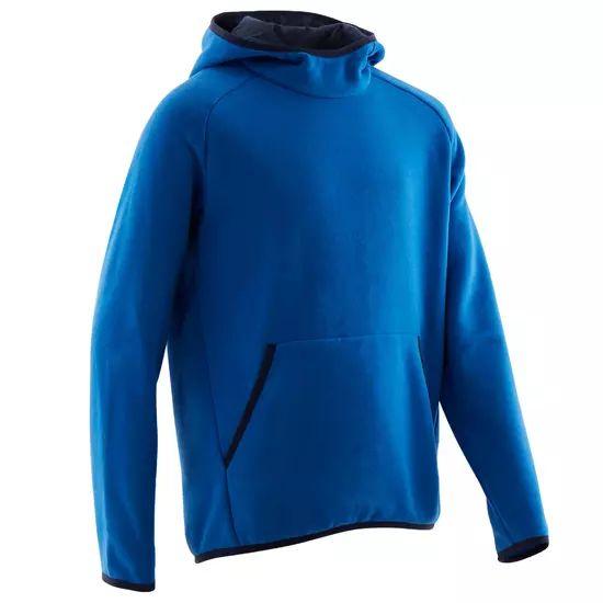 Sweat Domyos enfants - Bleu ou rouge