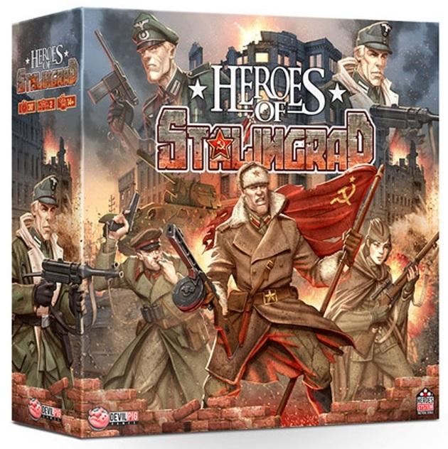 Jeu de société Heroes of Stalingrad (Parkage)