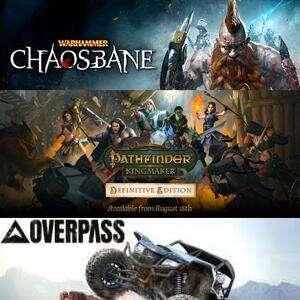 [Gold] Warhammer: Chaosbane, Overpass & Pathfinder: Kingmaker Definitive jouables gratuitement sur Xbox One / Series X/S (Dématérialisés)