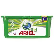 30 capsules de lessive Ariel Pods (via BDR + 7.98€ sur la carte de fidélité)
