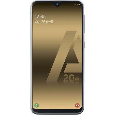 """Smartphone 5.8"""" Samsung A20E - HD+, Exynos 7884, 3 Go de RAM, 32 Go (Coloris au choix)"""