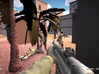 Battle Arena in Desert gratuit sur PC (dématérialisé)