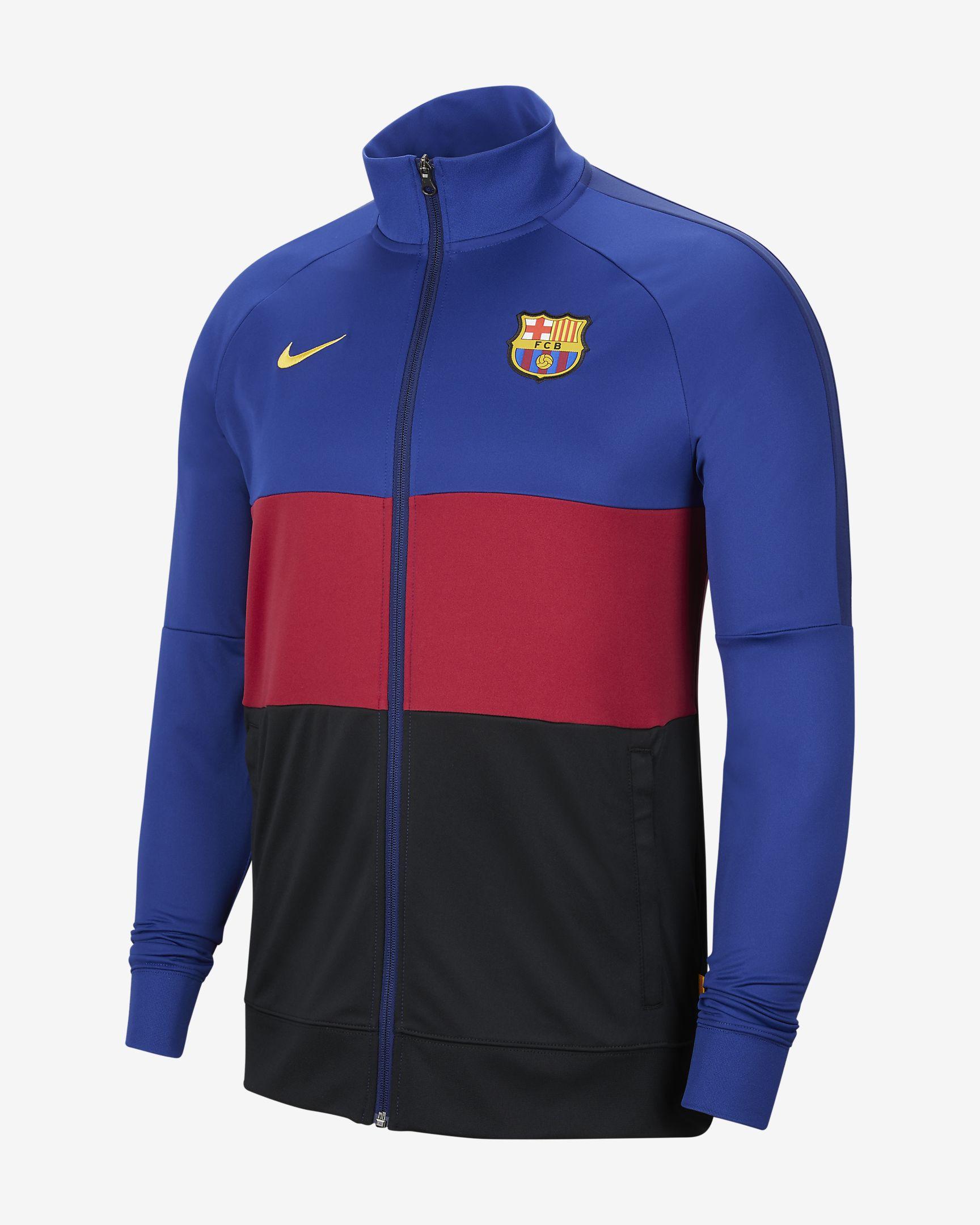 Veste de survêtement de football pour Homme FC Barcelona