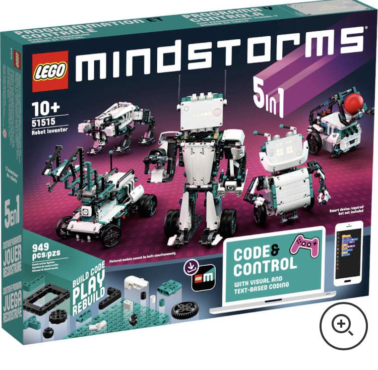 Jouet Lego Mindstorms EV4 Robot Inventor (51515)