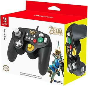 Manette filaire Hori Battle Pad (Zelda) pour Switch