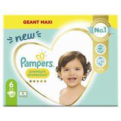 Paquet de 60 couches Pampers Premium Protection Geant Maxi - taille 6, x60