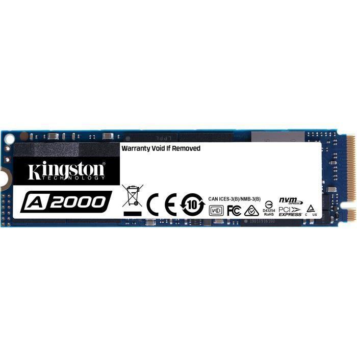 SSD Interne Kingston A2000 M.2 NVMe - 500Go