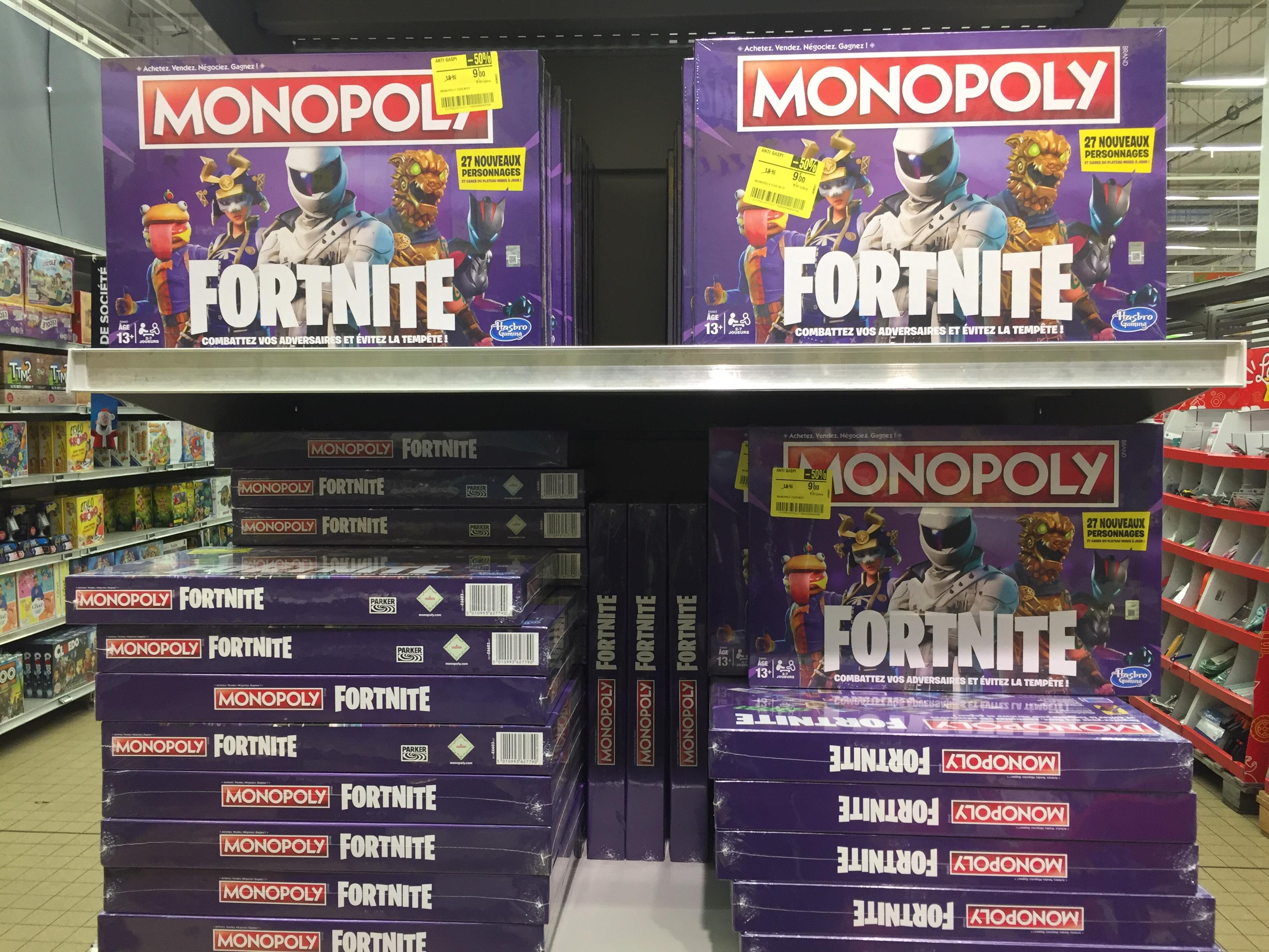 Jeu de société Hasbro Gaming Monopoly Fortnite - Lormont (33)