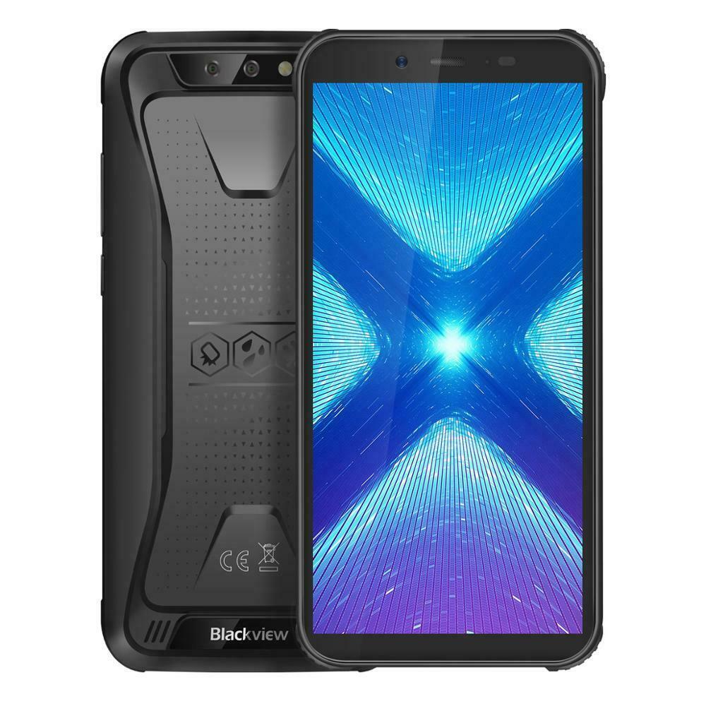"""Téléphone incassable 5.5"""" Blackview BV5500 Plus - 3 Go RAM + 32 Go, IP68, Noir ou Jaune (79.99€ via PETINOUVO21)"""