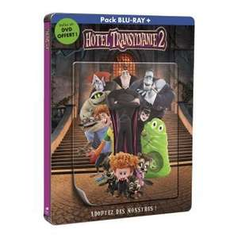 [Offre adhérents] Blu-ray Hôtel Transylvanie 2 (avec steelbook)