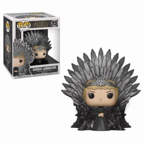 Figurine POP Game of Thrones Cersei Lannister sur le Trône de Fer (via 24,84€ sur la carte fidélité)