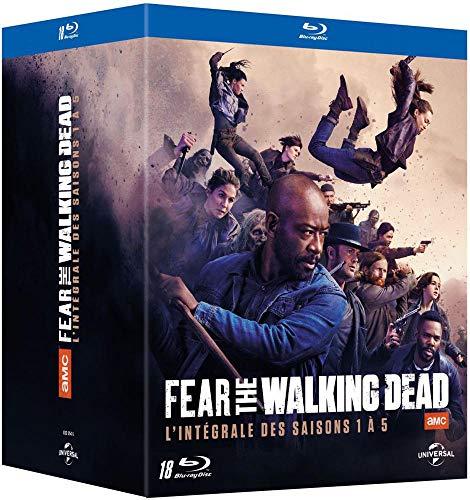 Coffret Blu-ray : Fear The Walking Dead-L'intégrale des Saisons 1 à 5