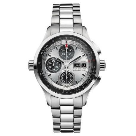 Sélection de montres en promotion - Ex : Montre Homme Hamilton Khaki X-Patrol H76566151 Bracelet Acier (elsass-bijouterie.com)