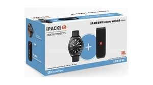 Montre connectée Samsung Galaxy Watch 3 - 45 mm + Enceinte JBL Flip 5