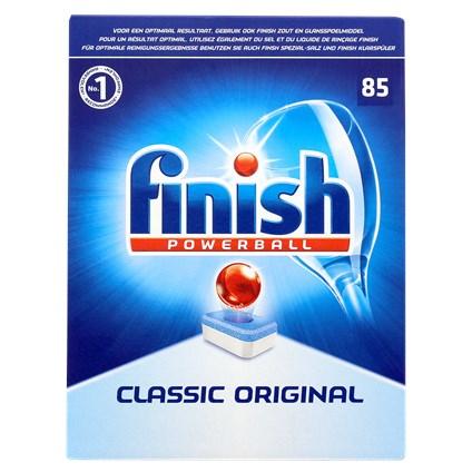 85 Tablettes pour lave-vaisselle Finish Powerball Classic Original