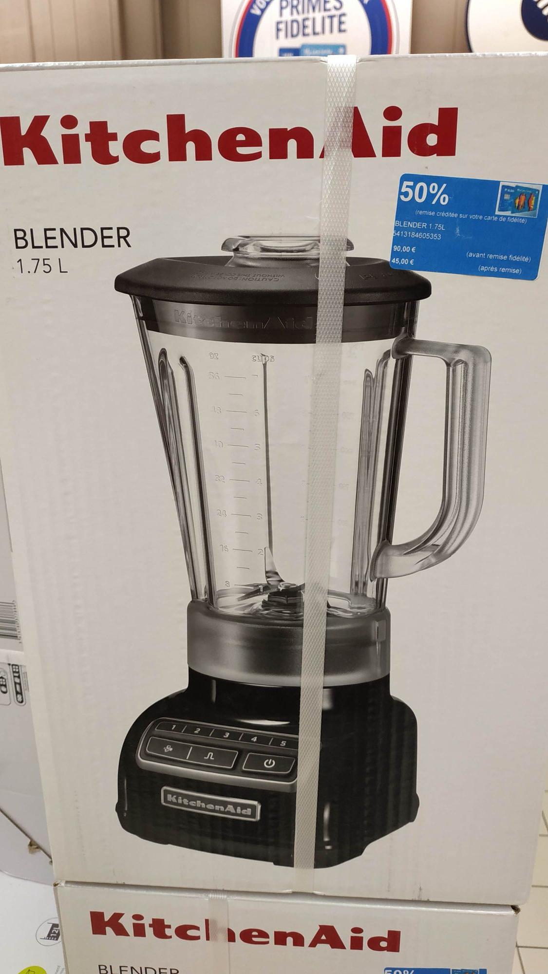 Blender Kitchenaid 1.75L (via 45€ sur la carte) - Aire sur la lys (62)
