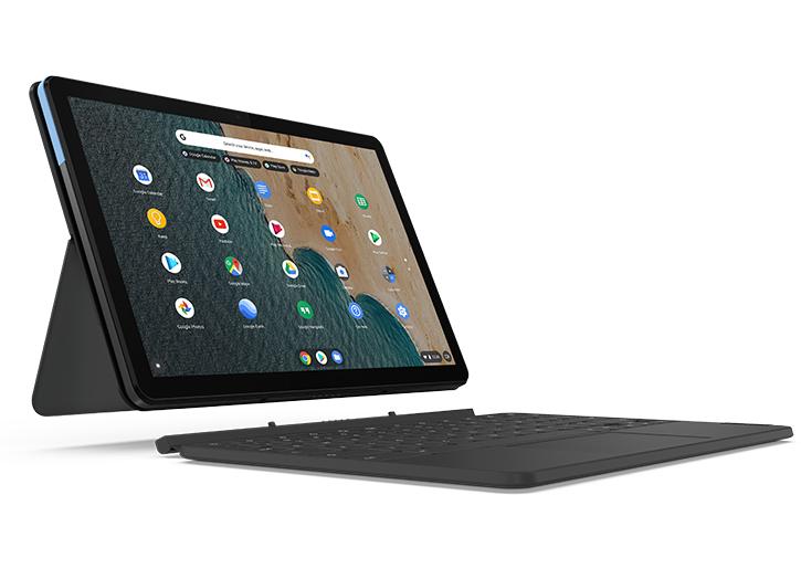 "PC Portable 2 en 1 10.1"" Lenovo IdeaPad Duet Chromebook 128 Go (Etudiants 282,69€)"