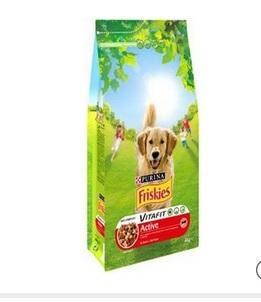 3 paquets de croquettes pour chiens Purina Friskies de 4kg (via BDR)