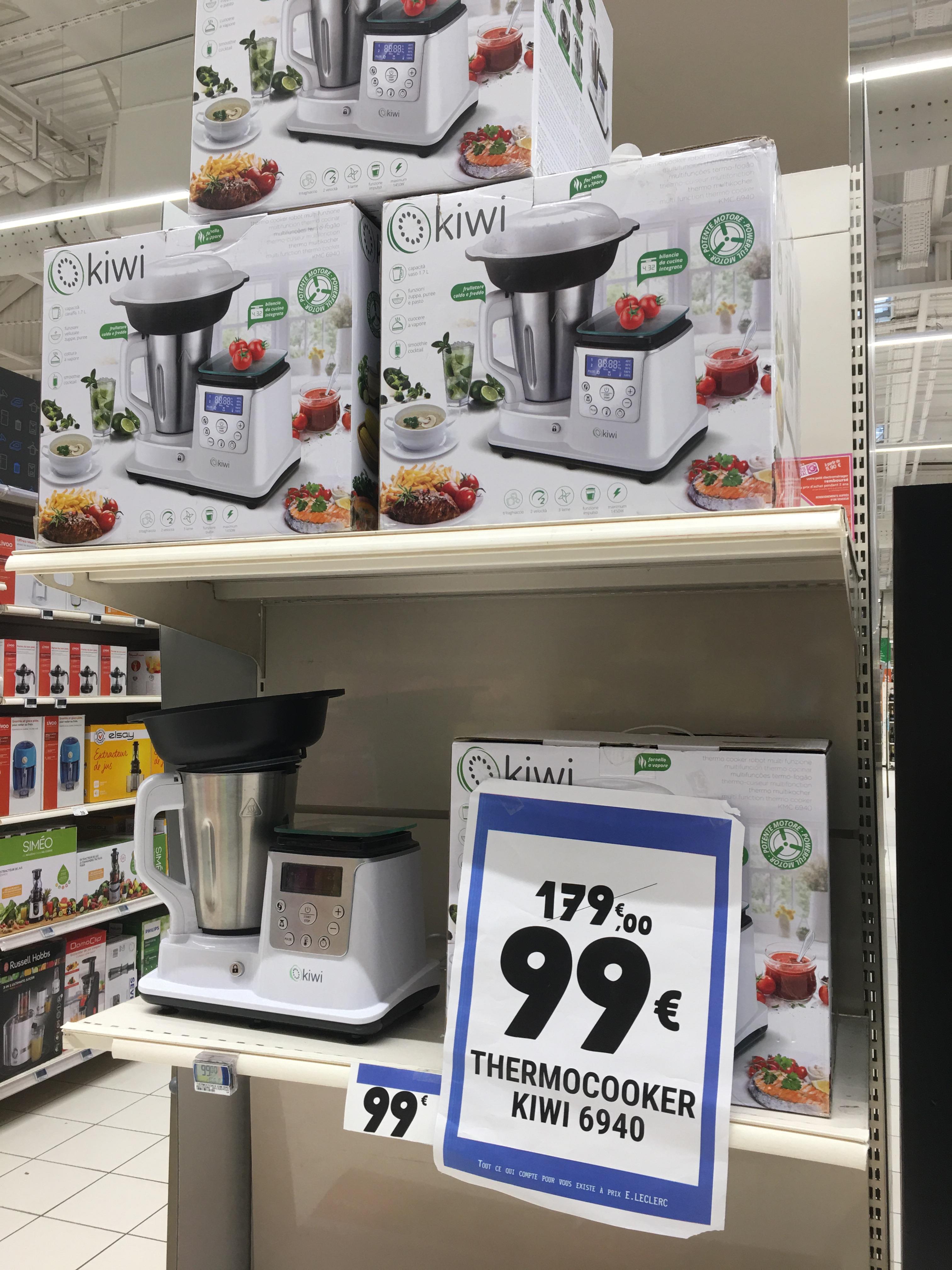 Robot de cuisine multifonction Kiwi Thermocooker KMC-6940 - Perpignan Sud (66)