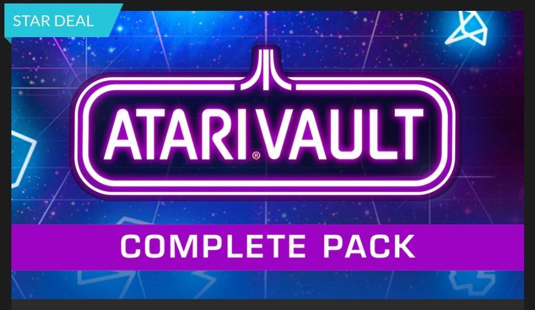 Atari Vault - Complete Pack sur PC (dématérialisé - Steam)