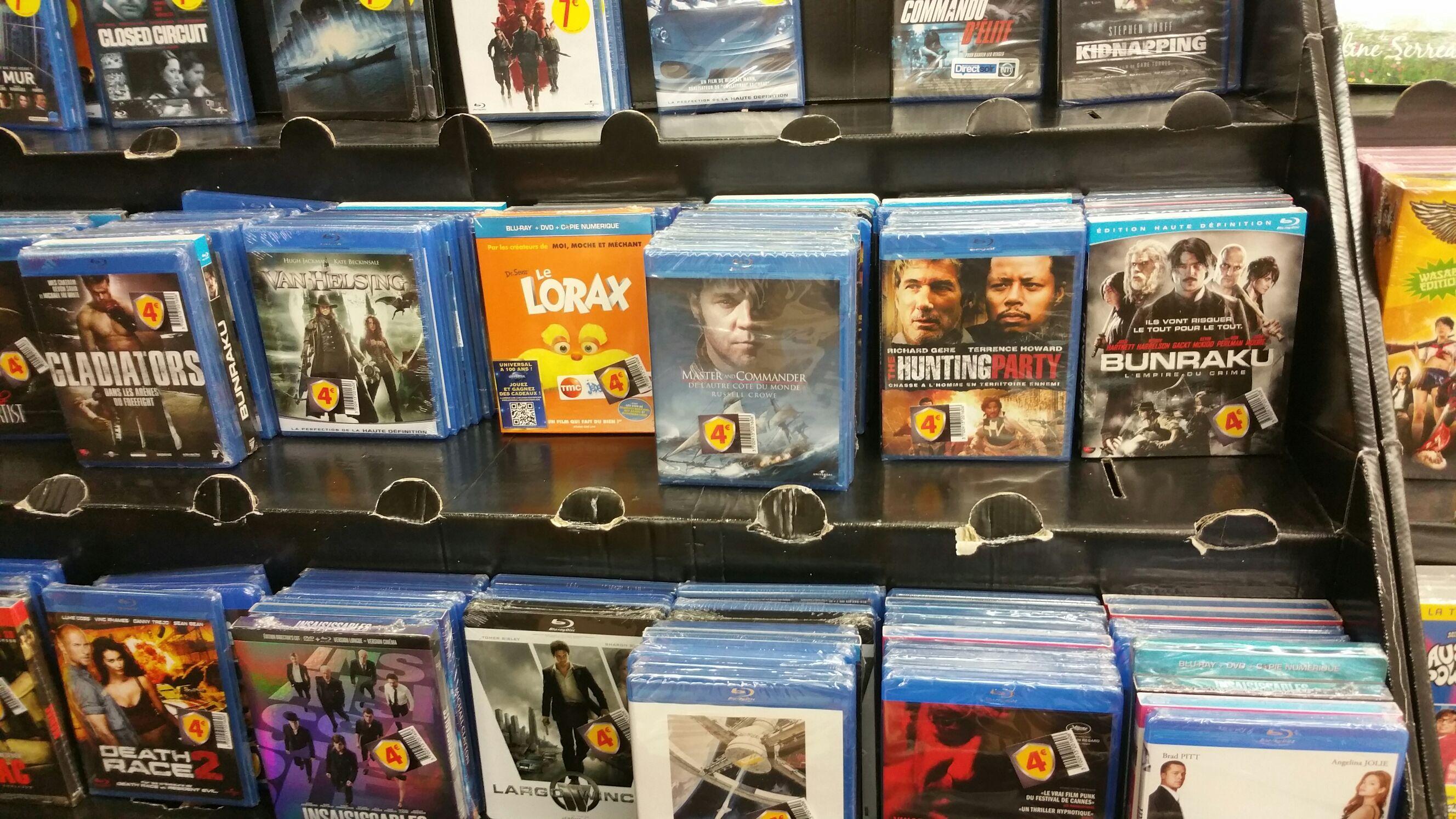 Sélection de DVD & Bluray à petits prix - Ex: Blu-ray Insaisissables