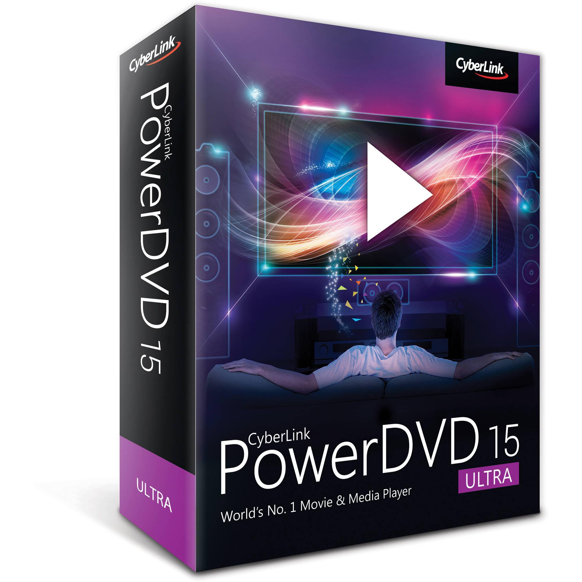 Logiciel Cyberlink Power DVD 15 Ultra