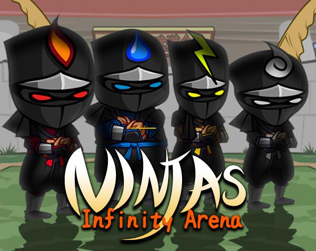 Jeu Ninjas Infinity Arena gratuit sur PC & Mac (Dématérialisé)