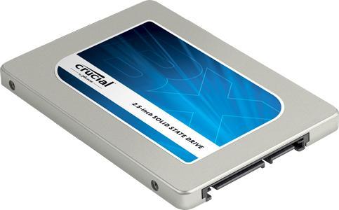 """SSD interne 2.5"""" Crucial BX100 (mémoire MLC) - 250 Go"""